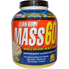 LEAN BODY MASS 60 VANILA 6 LB