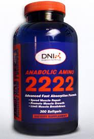 ANABOLIC AMINO 2222 300 SOFTGEL