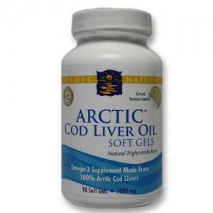 ARTIC COD LIVER OIL 90CT