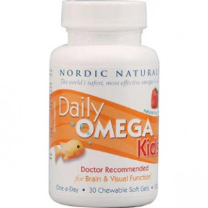 DAILY OMEGA KIDS 30 CHEWABLE SOFT GEL