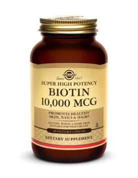 BIOTIN 10000 MCG 120CAP