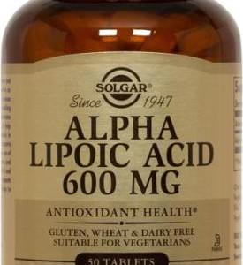 ALPHA LIPOIC ACID 600 MG 50 TAB