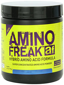 AMINO FREAK BLUE RASPBERRY 192 GM