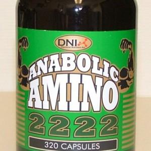 ANABOLIC AMINO2222 (320 Cap) (DNI)