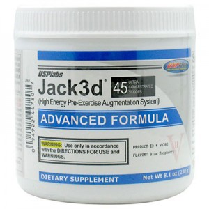 JACK 3D BLUE RASPBERRY 230 GM