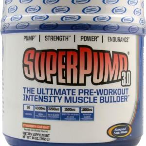 SUPER PUMP 3 STRAWBERY KIWI 392GM (GASPARI)