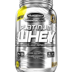 PLATINUM 100% WHEY COOCKIES 2LB (MUSCLETECH)