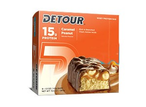 LOWER SUGAR CARAMEL PEANUT85 GM-DETOUR