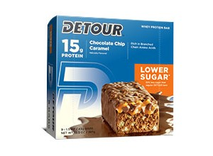 LOWER SUGAR CHOCO CHIP CARAMEL 85 GM-DETOUR