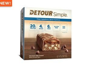 CHOCOLATE CHIP  CARAMEL 43 GM-DETOUR