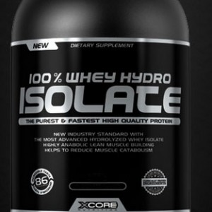 100% WHEY HYDRO ISOLATE 4.4 LB STRAWBERRY