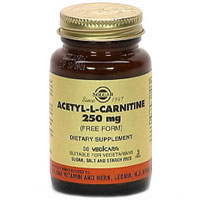 Acetyl-L-Carnitine 250Mg Vegetable Capsules