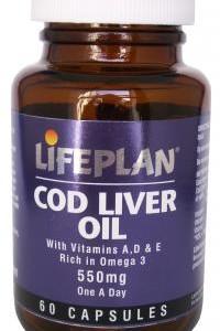 Cod Liver Oil 550mg 60's