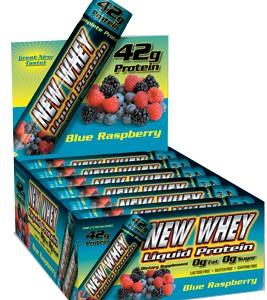 New Whey Liquid Protein - Blue Raspberry 42g (12 Pack)