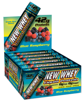 New Whey Liquid Protein - Blue Raspberry 42g (12 Pack)