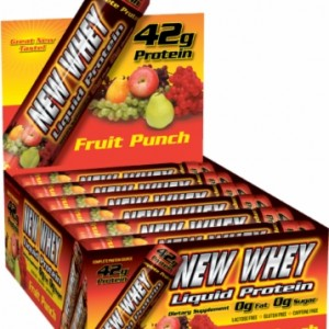 New Whey Liquid Protein - Fruit Punch 42g (12 Pack)