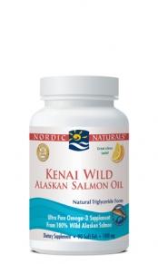 Kenai Wild Alaskan Salmon Oil Soft Gels