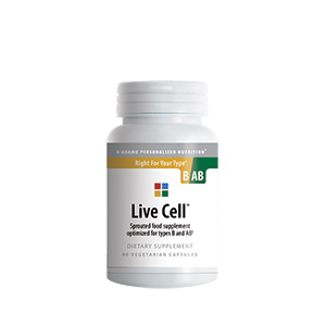 Live Cell B/AB (sprouted foods complex)