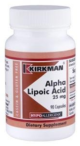 Alpha Lipoic Acid 25 mg - Hypoallergenic