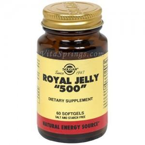 Solgar Royal Jelly '500' 60Sg