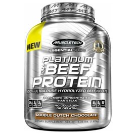 100% BEEF PROTEIN 4.02LB CHOCOLATE (MUSCLE TECH)